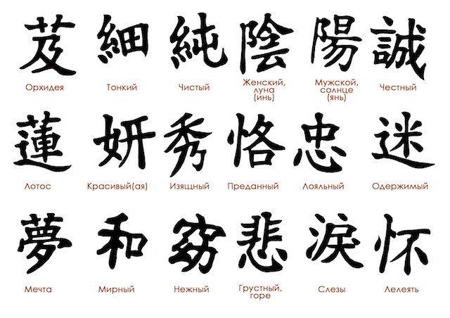 Тату японские значение
