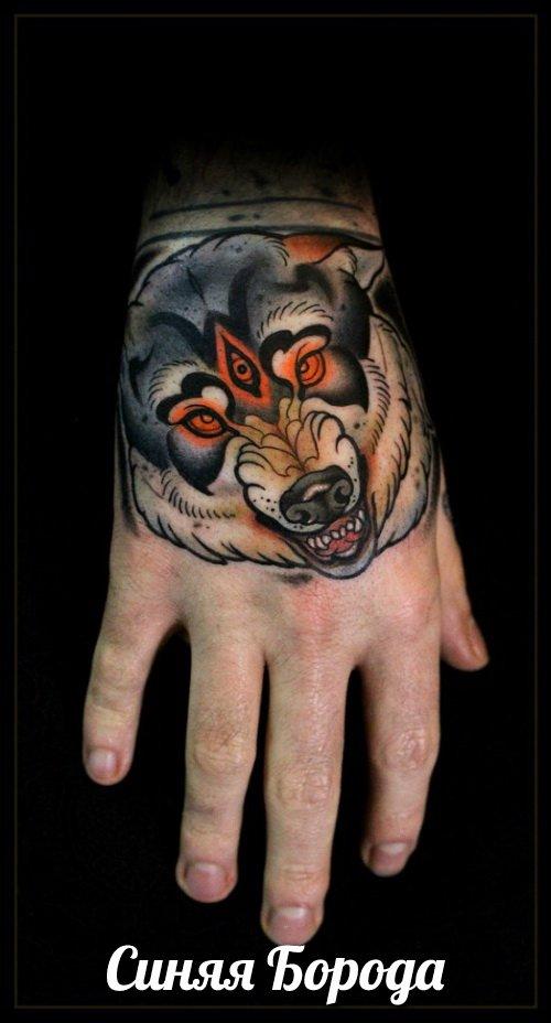 Другие что значит татуировка волка на запясти мотивам комиксов про